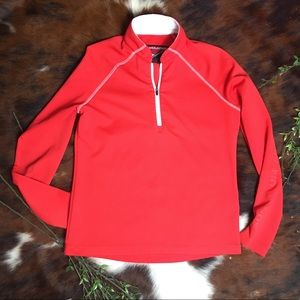 SUN MOUNTAIN OUTERWEAR • Red Athletic Pullover